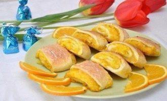 Апельсиновые печенья