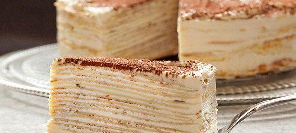 Торт «Крепвиль»