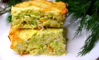 Запеканка из кабачков с сыром и рисом: вкуснятина на скорую руку