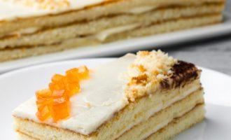 30 минут и торт на столе! Быстрый торт «5 ложек»