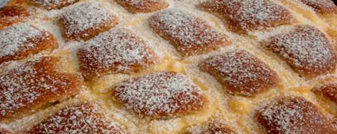 Вкуснейший пирог «Стеганое одеяло»