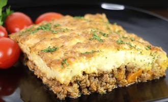 Картофель с мясом в духовке: вкусно и легко