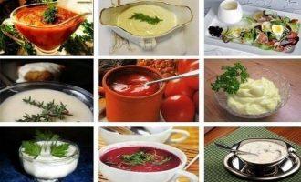 Соусы - вкусные и всеми любимые